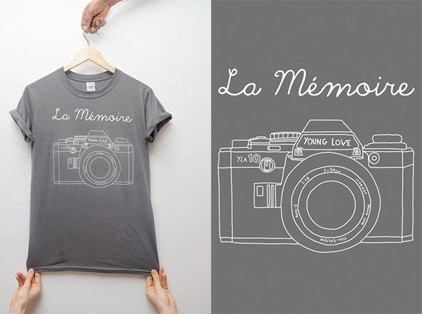 Young love camiseta: De fotógrafo a magnate de camisetas