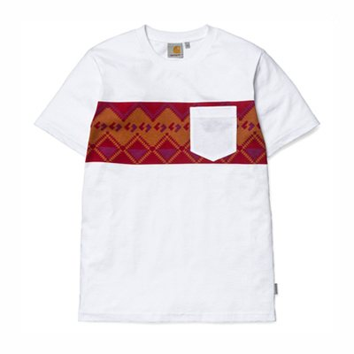 Camiseta bolsillo blanco