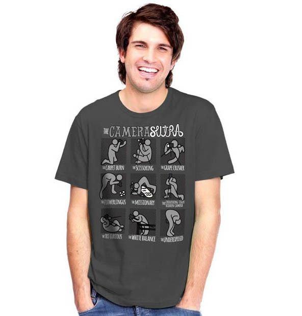 Camiseta Camera sutra