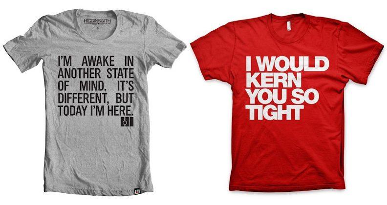 Diseño de camisetas: 15 combinaciones fabulosas