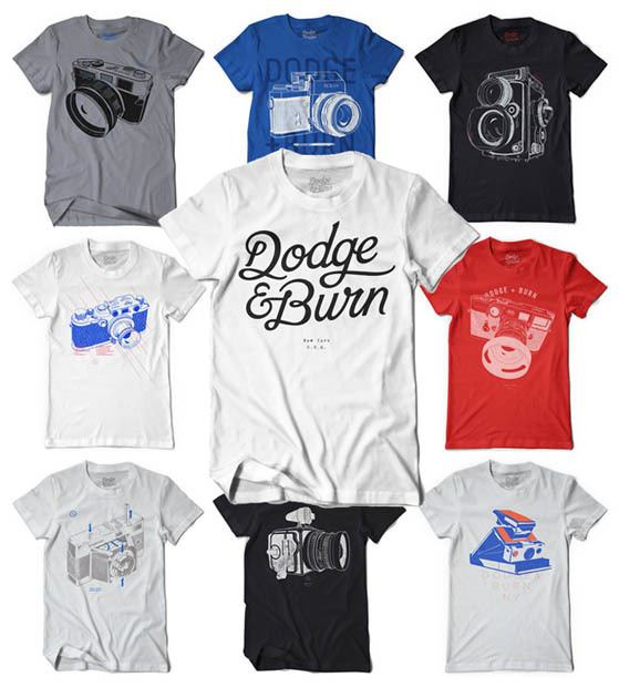Camiseta Dodge and Burn