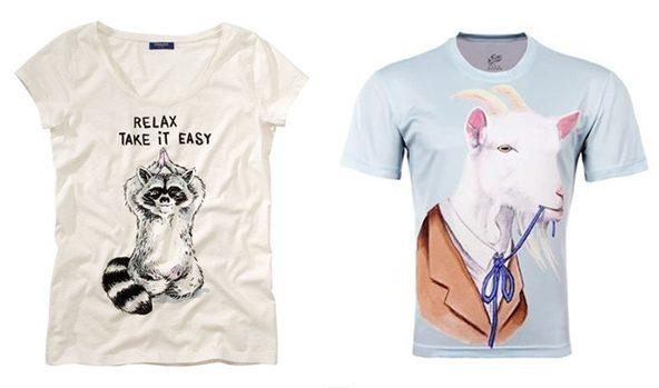 Camisetas cómicas