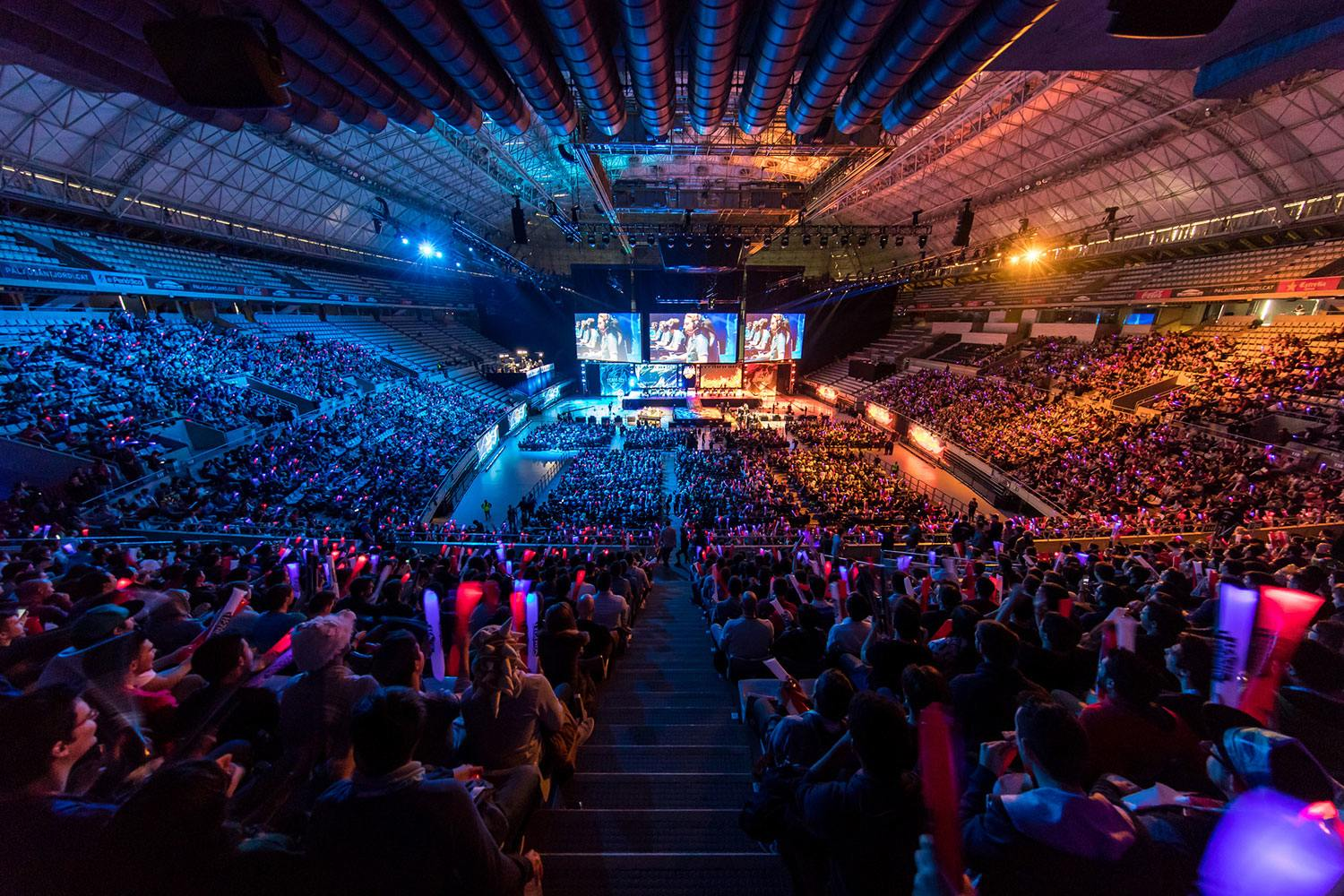 Riot Games Europa - 'League of Legends' ALL STARS en el Palau Sant Jordi. (Eventos eSports)