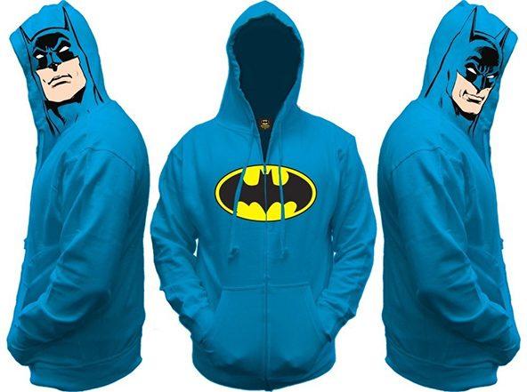 Batman sudadera: Las sudaderas con capucha más cool que verás hoy