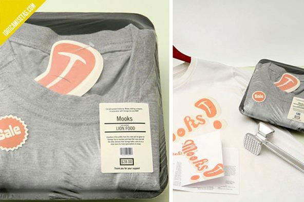 Empaque supermercado: 25 ejemplos creativos de packaging para camisetas – Parte 2