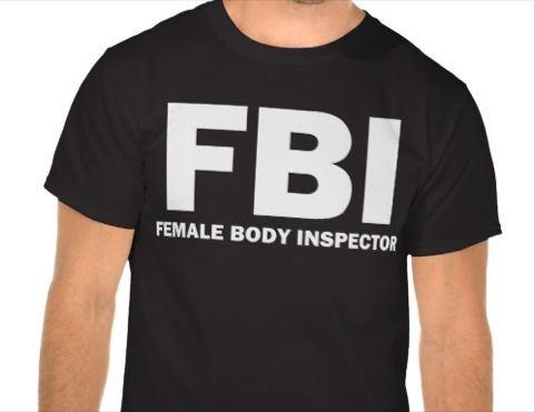 Fails de camisetas - FBI