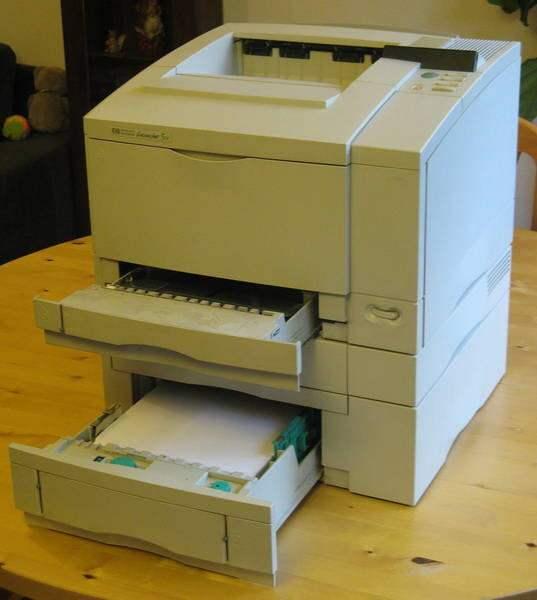 HP Laserjet 5 DN 1 - Impresión Digital DTG
