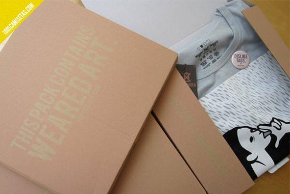 Indisoder packaging-design: 25 ejemplos creativos de packaging para camisetas – Parte 2