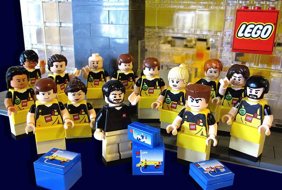 Lego juguetes: Cómo diseñar uniformes de confianza + 80 ejemplos reales
