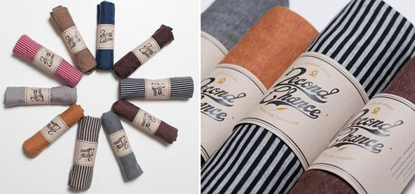 Publish Second Chance empaque: 25 ejemplos creativos de packaging para camisetas – Parte 2