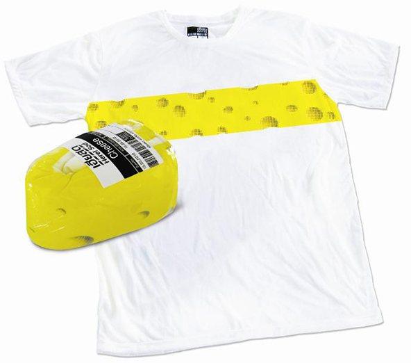 Queso empaque camiseta: 25 ejemplos creativos de packaging para camisetas – Parte 2