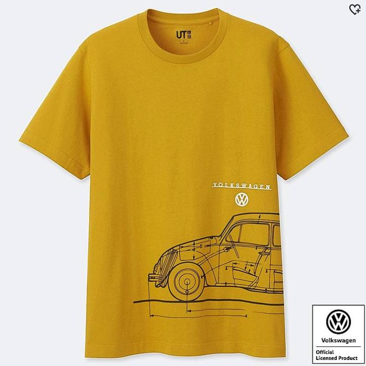 Colaboraciones Uniqlo - Volkswagen