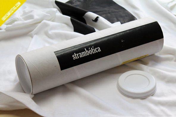 Strambotica blanco y negro 2: 25 ejemplos creativos de packaging para camisetas – Parte 2