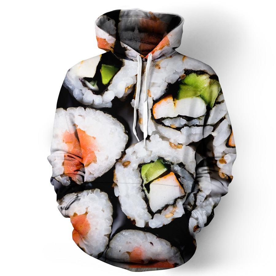 Sushi hoodie: 30 sudaderas chulas que te encantaran