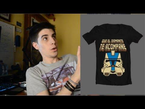 Camisetas merchandising: Alexby11