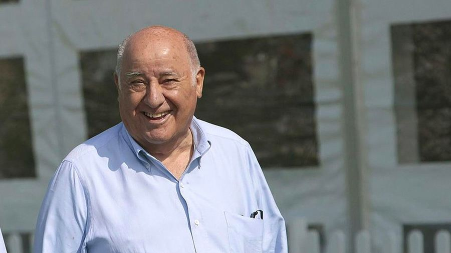 amancio ortega inditex group