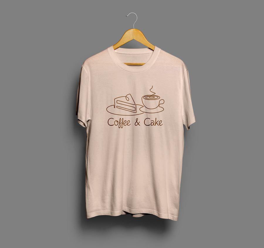 Camiseta estampada Cofee&cake