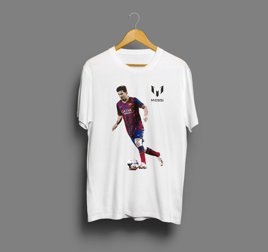 Camiseta estampada Messi