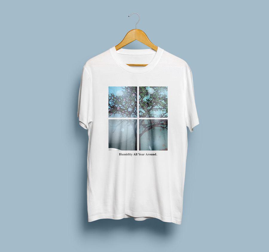 camisetas que representan Valencia: humedad