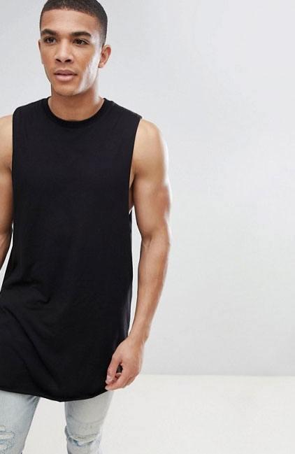 Camisetas de tirantes: Torso largo