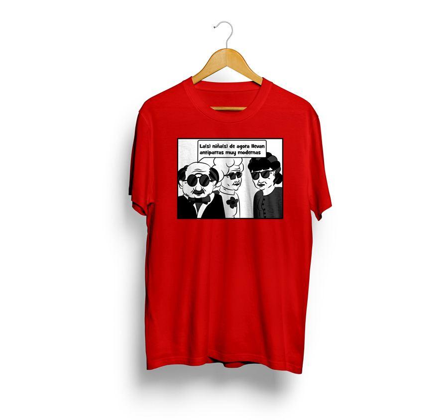 camisetas estampadas de cotilleo