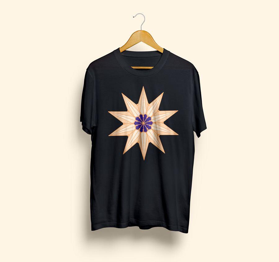 camiseta estampada templo de murcia