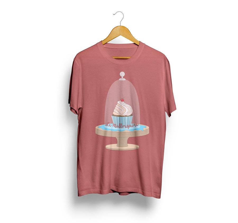 Camiseta estampada la mallorquina