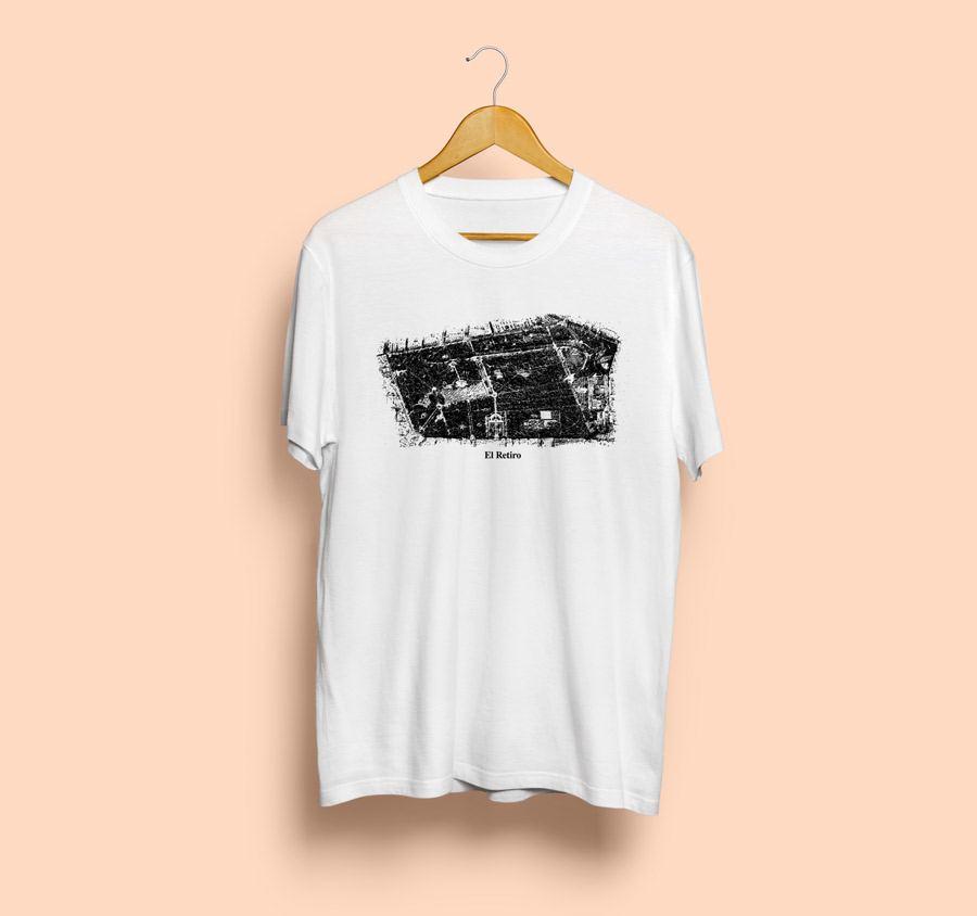 Camiseta estampada el retiro