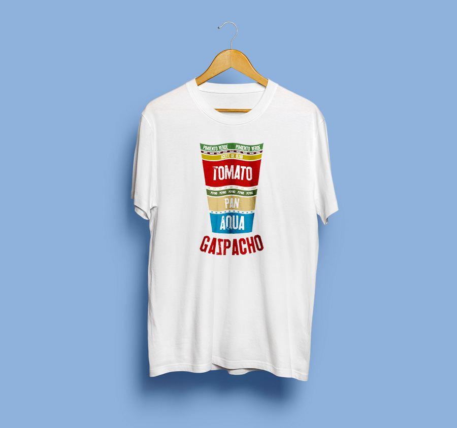 camiseta estampada - Gazpacho