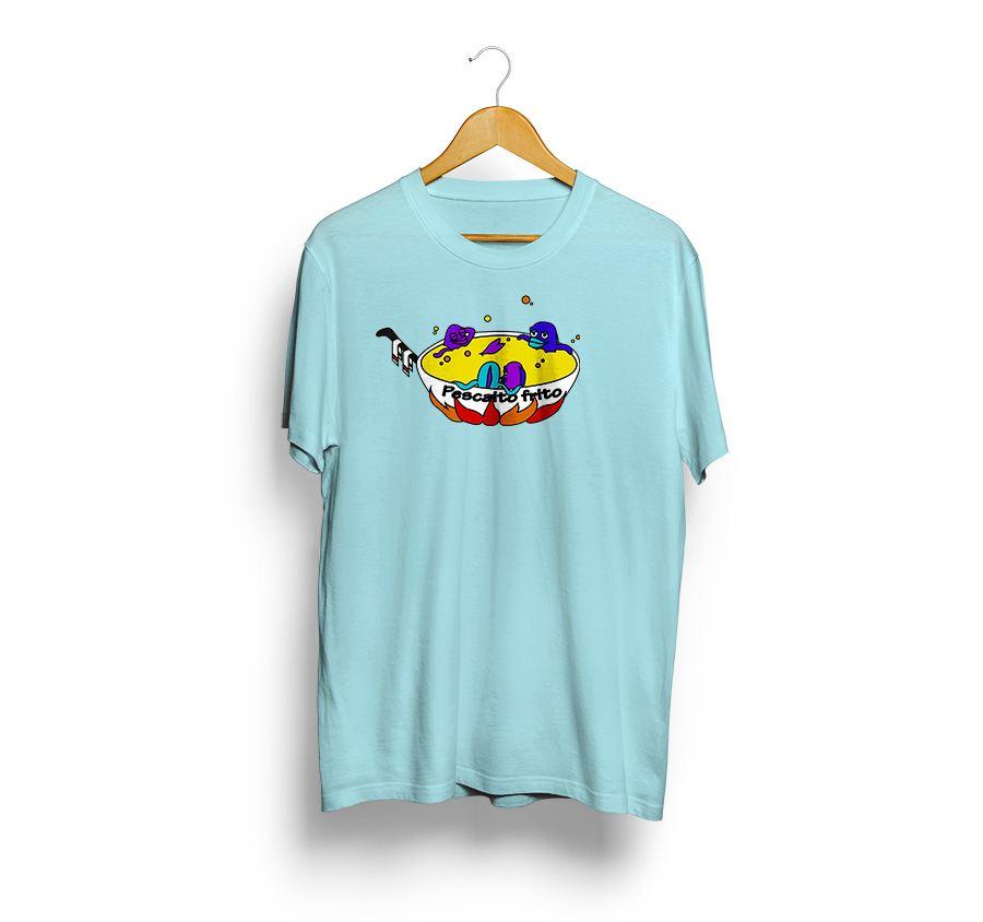 camiseta estampada - Pescaito frito