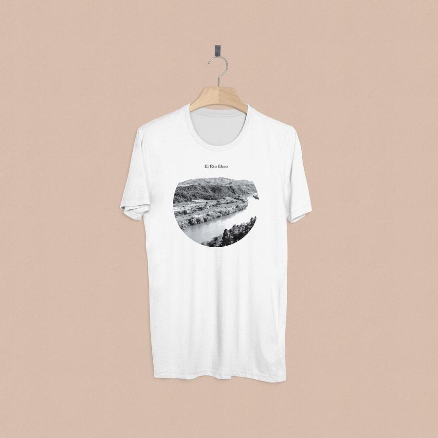 camiseta estampada Rio Ebro