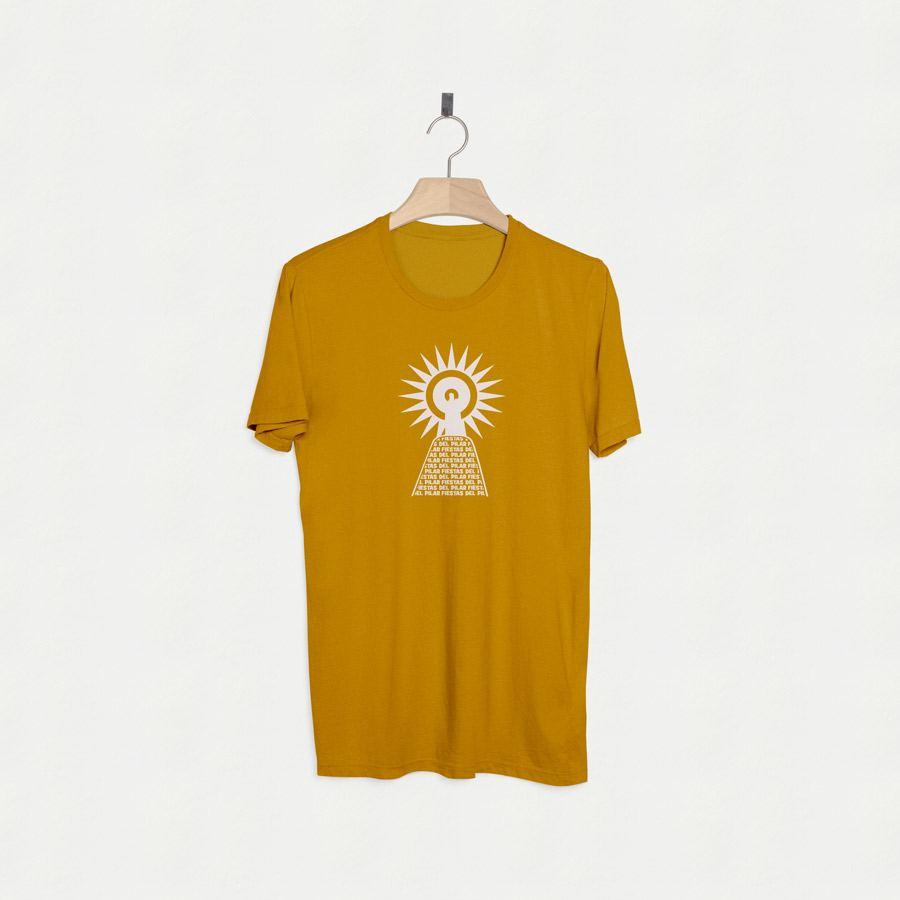 Camiseta estampada fiesta patronal de zaragoza