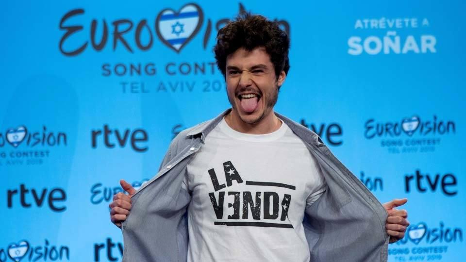 Camisetas Eurovisión - La venda
