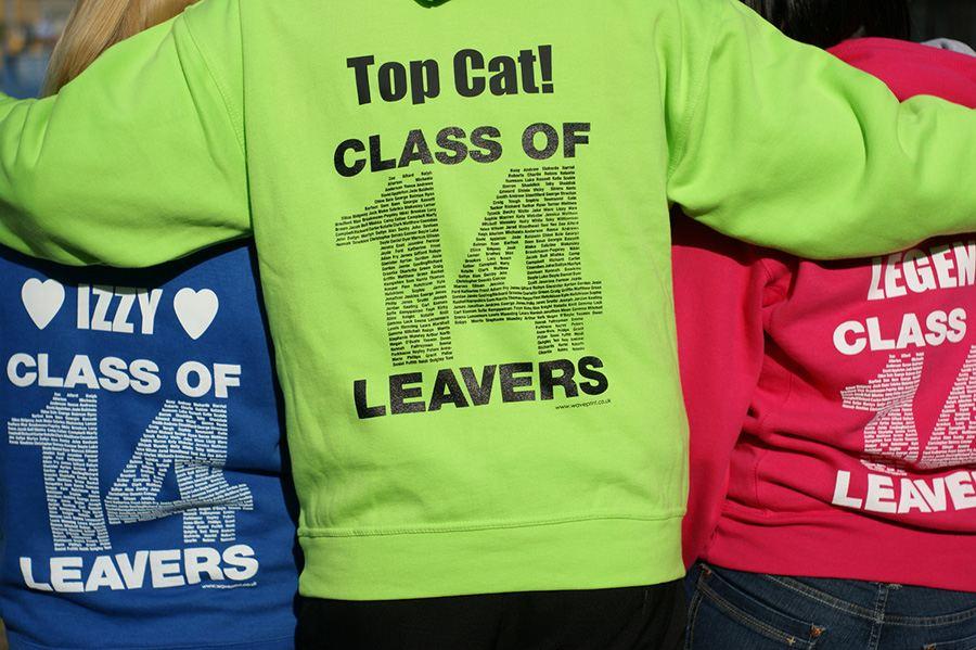 camisetas de fin de curso para escuelas