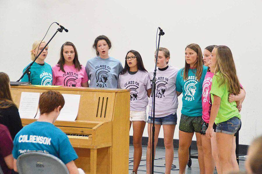 camisetas de fin de curso para grupos musicales