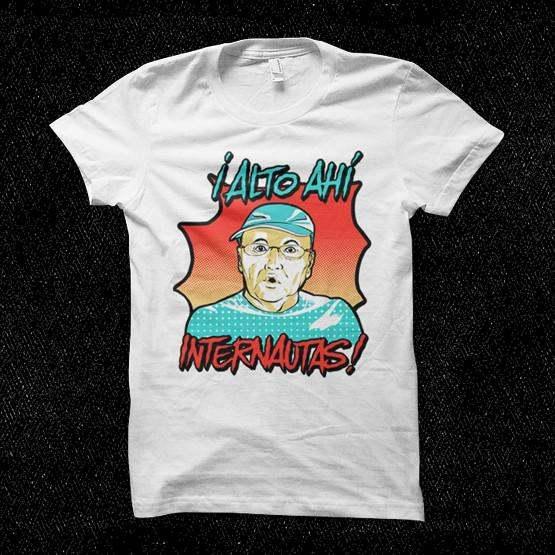 Camisetas merchandising: El rincón de Giorgio.
