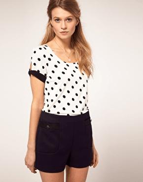 camisetas molonas, lunares, h&m