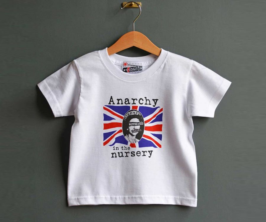 camisetas personalizadas para niños - Anarchy