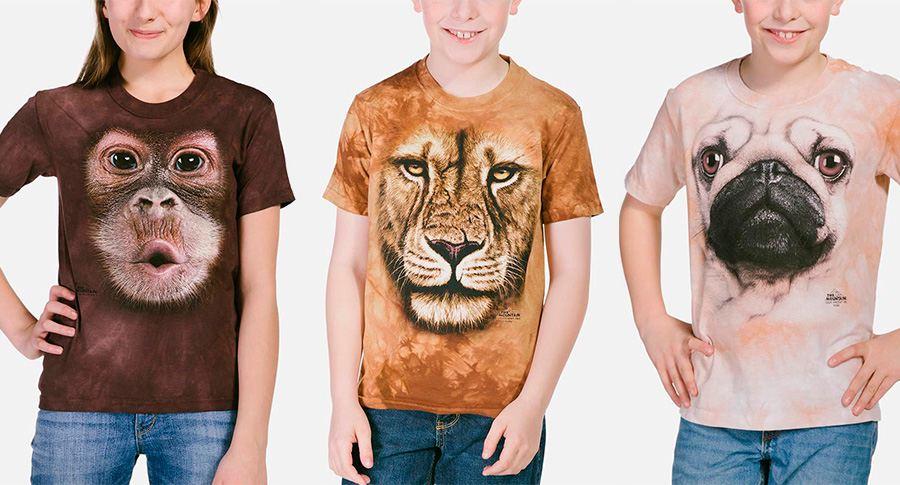 camisetas personalizadas para niños con animales