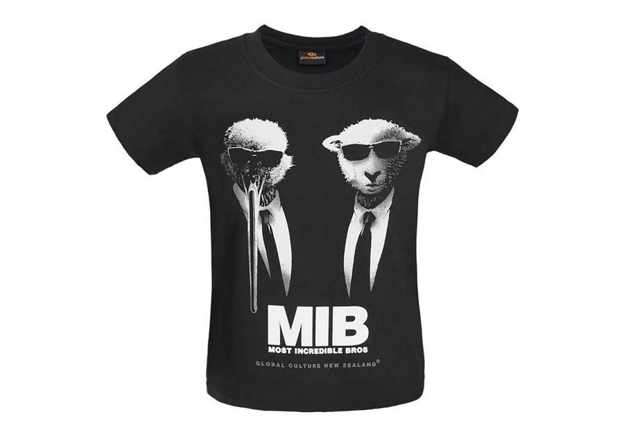 camisetas personalizadas para niños - MIB
