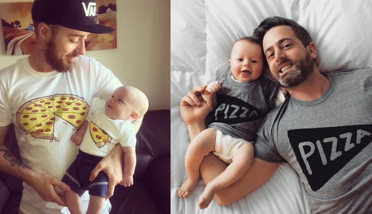 camisetas personalizadas para niños y padres