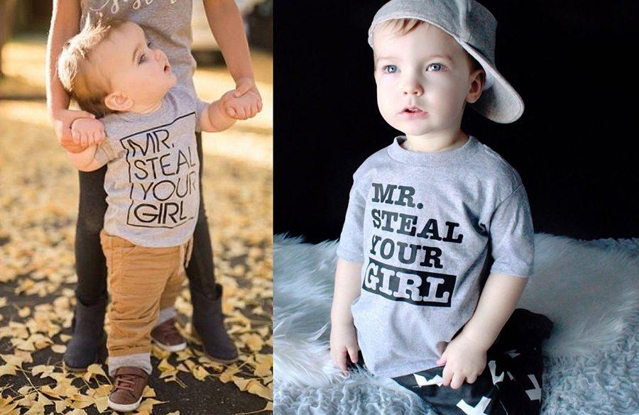 camisetas personalizadas para niños - Con frases