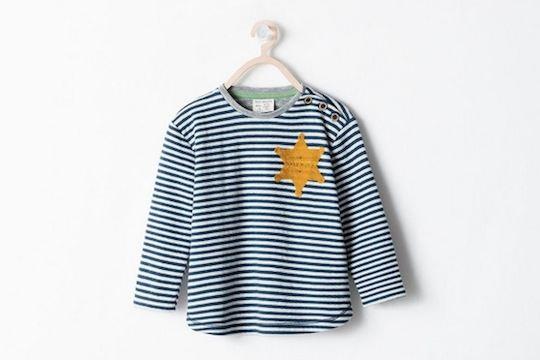 Camisetas polémicas - Camiseta de Zara que parece un uniforme de prisionero del holocausto