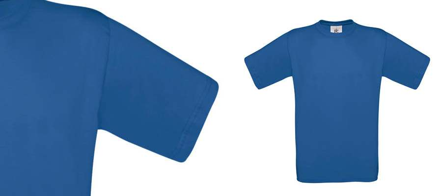 Camisetas promocionales B&C exact 150 gramos