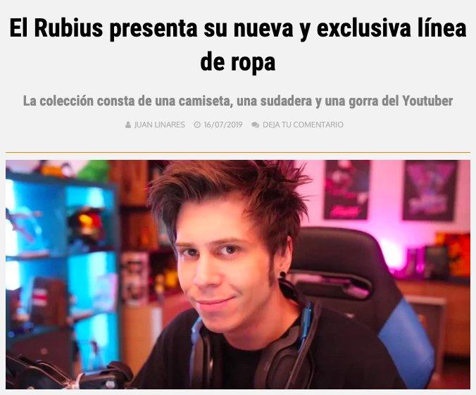Cómo ganar dinero en YouTube - Nota de prensa de El Rubius