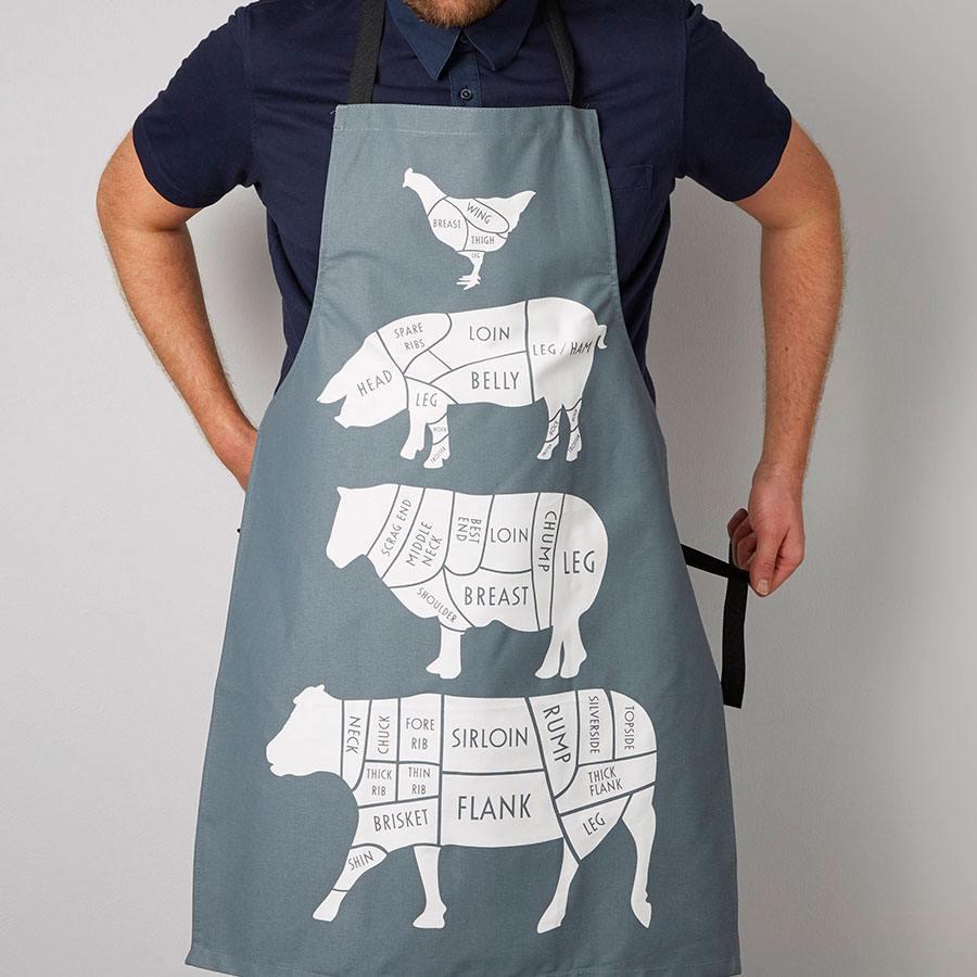 ejemplo de delantales originales cocinar