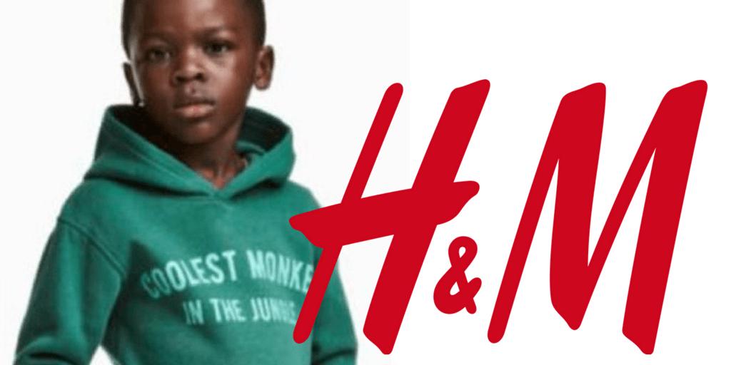 Sudadera controversial de H&M.