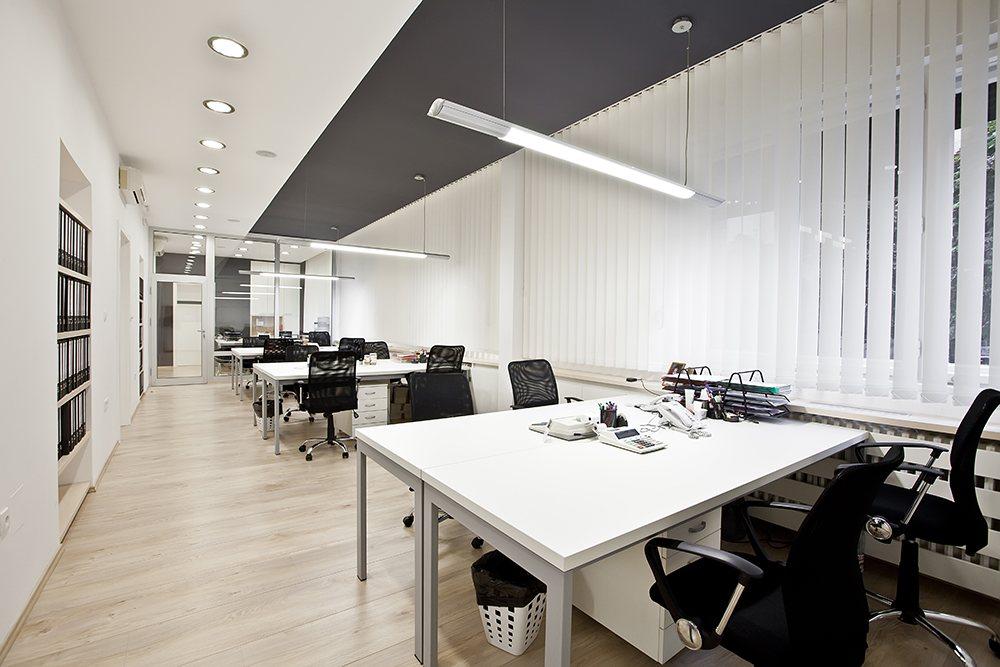 Espacio de trabajo - oficina moderna.