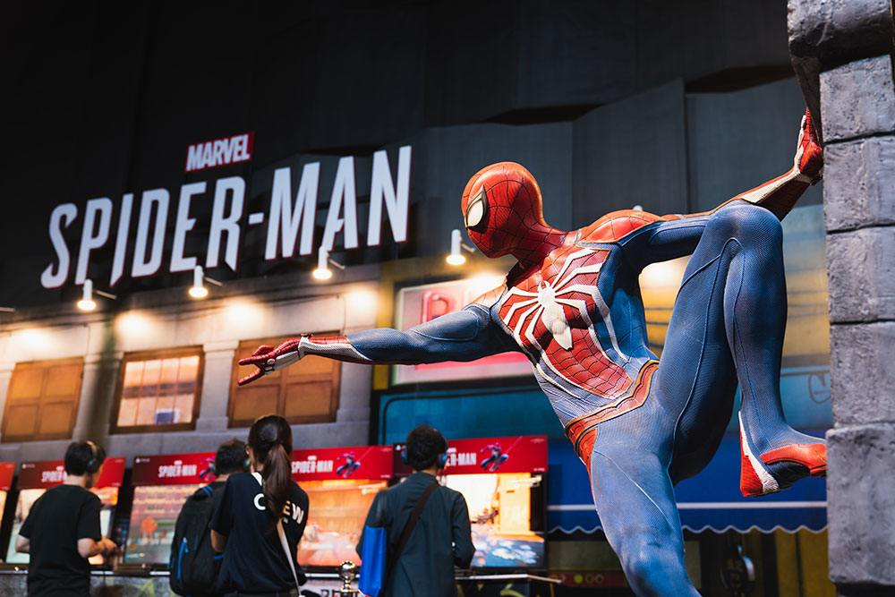 Estands para eventos - Estand de Spiderman en E3