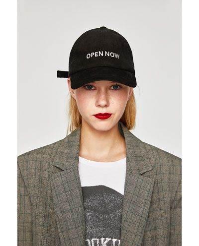 Gorras personalizadas: Eslogan